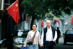 Hutongs de Pékin Photographie stock libre de droits