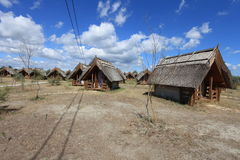 Huts Stock Photography