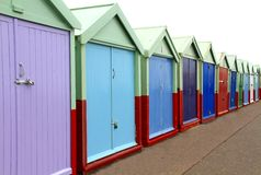 Huts Stock Photo