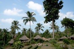Huts. In  ko chang Thailand Royalty Free Stock Photography