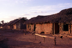 Huts Stock Image