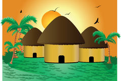 Huts Royalty Free Stock Photos