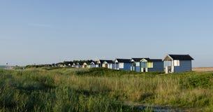 Beach huts - Panorama Stock Photography