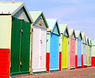 Huts Royalty Free Stock Photography