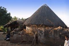 Huts of Kutch, Gujarat, India Stock Photography