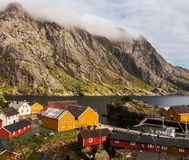 Huts in Norway Royalty Free Stock Photos