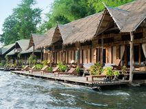 Free Huts On The River Stock Image - 2477671