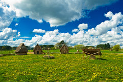Huts Stock Images