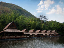 Huts at the River Kwai, Thailand Stock Photography