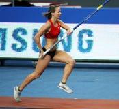 Hutson Kylie - Amerikaanse pool vaulter Stock Afbeeldingen