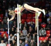 Hutson Kylie - sauteur de pôle américain Photographie stock libre de droits