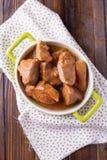 Hutspot met vlees Royalty-vrije Stock Fotografie