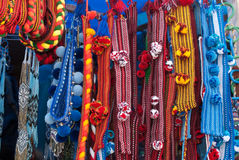 The hutsul headbands Stock Images