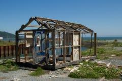 Hutte abandonnée. Photo libre de droits
