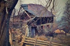 Hutte abandonnée Image stock