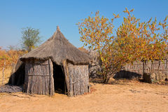 Hutte africaine rurale Photographie stock