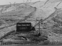 Hutte de club de Glenshee Photo stock