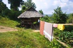 hutte de fermier Photos libres de droits