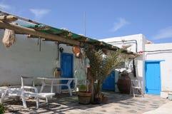 hutte de fishermans Images libres de droits
