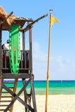 hutte de maître nageur Photo stock