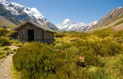 Hutte de montagne Photo libre de droits