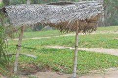 Hutte de noix de coco images libres de droits