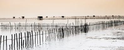 Hutte de pêcheurs Photographie stock