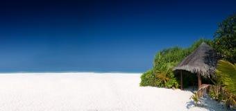 Hutte de plage Images stock