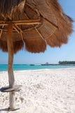 Hutte de plage Photo stock