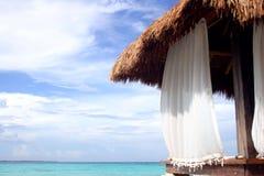 Hutte de plage Image libre de droits