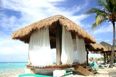 Hutte de plage Photo libre de droits