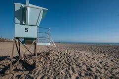Hutte de plage dans Pismo sur la route 1 Images libres de droits