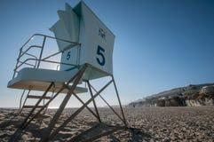 Hutte de plage de Pismo sur la route 1 Image stock