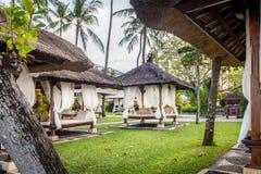 Hutte de relaxation dans Bali images libres de droits