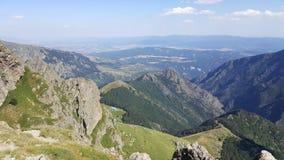 Hutte du Balkan et du ciel, Bulgarie images libres de droits