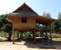 Hutte en bambou Images libres de droits