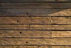 Hutte en bois Photos libres de droits