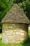 Hutte médiévale de pierre à chaux Photos libres de droits