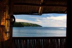 Hutte sur le lac Image libre de droits
