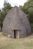 Hutte tribale africaine Photo stock