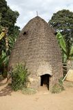 Hutte tribale africaine Photos stock