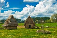 hutten Stock Afbeelding