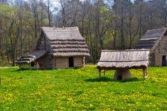 huttes Image libre de droits