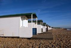 Huttes de plage Photos libres de droits