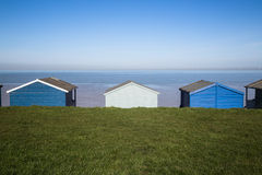 Huttes de plage Image libre de droits