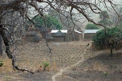 Huttes de Tata Somba du Bénin Afrique de l'ouest Photographie stock libre de droits