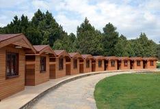 Huttes en bois Image stock