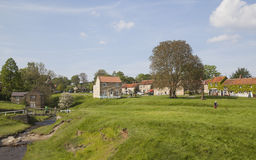 Hutton-le-Hole. A small village in North York Moors National Park Royalty Free Stock Images
