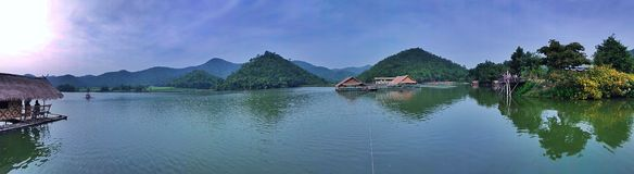 Huub khaow wong reservoir stock fotografie