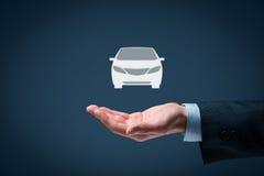 Huur een auto Royalty-vrije Stock Afbeelding